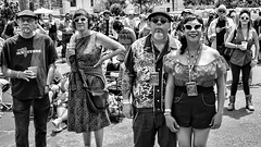 The Welcoming Committee (Steve Mitchell Gallery) Tags: street people sunglasses glasses assemblage group meet greet groups assembly meetandgreet welcomingcommittee