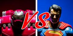 Hulkbuster vs Superman (Vimlossus) Tags: toy action posing superman figure dccomics marvel hulkbuster