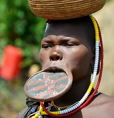 Mursi Tribe (gabitul) Tags: travel omovalley ethiopia tribe mursi mursitribe omoriver travelethiopia gabitul mursiethiopia ethiopiaomovalley tribeomovalley