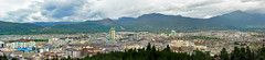city of Lijiang from lion hill, china 2 (Russell Scott Images) Tags: old city lijiang yunnanprovince china wangu pagoda lion hill russellscottimages