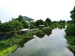 Klong Thailand Water Samut Prakan Sky Tranquility (markusg2010) Tags: sky water thailand tranquility klong samutprakan