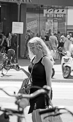 Primark (Dutch_Chewbacca) Tags: blonde girl woman girls women pretty candid beauty feminine venus bw blackandwhite monochrome streetphotography straatfotografie city street urban citylife streetlife urbanlife fashion sexy strangers people human unposed unpolished eindhoven 040 noordbrabant brabant nederland netherlands europa europe canon dlsr sigma eos d550 july 9th 2016 saturday weekend summer sunny hot freedom busty curls smile happy