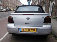 Volkswagen Golf 4 cabrio 2000 nr2018 (a.k.a. Ardy) Tags: softtop 81fhvb