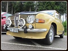 Saab 96, 1973 (v8dub) Tags: saab 96 1973 schweiz suisse switzerland swedish freiburg fribourg pkw voiture car wagen worldcars auto automobile automotive old oldtimer oldcar klassik classic collector