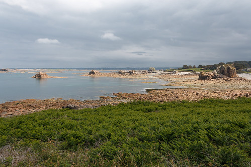 La Pointe du Château à Plougescrant