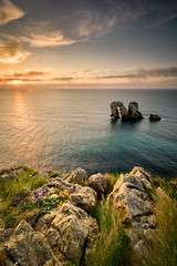 Los Urros de Liencres (Luis Cagiao) Tags: liencres urros costa quebrada cantabria coast broken atardecer sunset seascape paisaje marino mar cantabrico