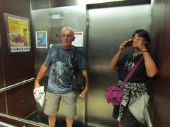 Silly elevator selfie (wallygrom) Tags: canada ontario toronto carltonstreet hotel holidayinn