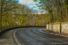 Bend in the road isn't the end of the road... (Renji's SnapShots) Tags: road outdoor curve winding windingroad durham england