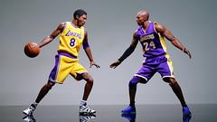 Kobe vs Kobe (Gfinal Cheng) Tags: sixscale figure kobebryant blackmamba kobe lalakers lakers nba