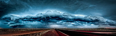 Olympic Opal Field Thunderstorm (lespullen1) Tags: australia cooberpedy dusk outback southaustralia storm thunderstorm