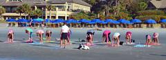 Yoga on the Beach DSC_0486_edited-2 (John Dreyer) Tags: yoga beach morning hiltonheadisland nikon nikond5100 copyright2016johnjdreyer photocreditjohnjdreyer