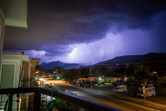 Tuesday night light show (keelansears) Tags: lightning storm cloud clouds stormy night long exposure boulder colorado outdoors nature thunder