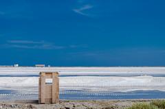 Les salins de St Martin, Gruissan (larecettedujour) Tags: salt lagoon mediterranean gruissan salins blue saltpan