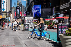 Keep Moving... I Object as a Street Photographer (ViewFromTheStreet) Tags: allrightsreserved bigapple blick blickcalle blickcallevfts calle candid copyright2016 ford iobject keepmoving manhattan nyc newyork newyorkcity pedestrianflowzone photography stphotographia streetphotography timessquare viewfromthestreet amazing bicycle bike blonde citibike classic denim girl jeans people street vftsviewfromthestreet woman blickcallevfts copyright2016blickcalle