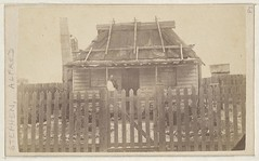 Alfred Stephen and his weatherboard house, 1876 (State Library of New South Wales collection) Tags: statelibraryofnewsouthwales