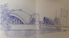 Opernhaus Dortmund (an-naw) Tags: dortmund sketching urbansketchers drawing