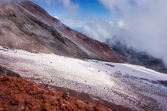 Geometry (Tom Fenske Photography) Tags: oregon nature wilderness bend greenlakes mountain southsister brokentop glacier snow clouds