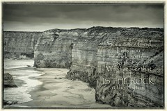 The Most Beautiful, yet misused Word. (J316) Tags: j316 sony hdr sephia texture australia 12apostles a77 landscape seascape rock themostbeautifulname jesus thewaytruthlife melbourne