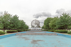Flushing Meadows Corona Park, New York (john.gillespie) Tags: nyc us open queens flushing meadows manhattan unisphere cloudy corona park clouds new york overcast summer september ny newyork coronapark flushingmeadows usopen