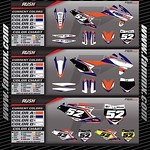 "New Semi Custom Graphic Kit - FAMmx Design KTM Rush Graphics. Check out our website at www.fammx.com for other graphic kits and more information. <a style=""margin-left:10px; font-size:0.8em;"" href=""http://www.flickr.com/photos/99185451@N05/30006341000/"" target=""_blank"">@flickr</a>"