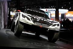 Mondial de l'Auto : Peugeot 3008 DKR (AlainG) Tags: mondialdelauto car voiture paris france canon5dmarkiii peugeot 3008 3008dkr parisdakar redbull idf