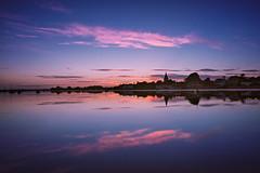 Sunset Blush (Langstone Joe) Tags: boshamharbour bosham westsussex seascape sunset village church landscape reflections yachts bluehour