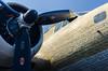 Brothers of the blue yonder (GmanViz) Tags: gmanviz color nikon d7000 airplane wwii bomber b17 flyingfortress engine cockpit type script names veterens