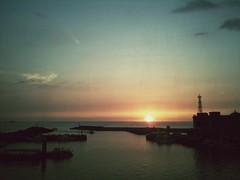 台灣 新北市 淡水 漁人碼頭 日落 (Lee ChaoHsin) Tags: sunset sky cloud outdoors wharf 夕陽 fishermans 淡水 漁人碼頭 tamsui uploaded:by=flickrmobile flickriosapp:filter=nofilter