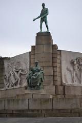 Monument voor de Arbeid, Laken (Erf-goed.be) Tags: geotagged brussel laken archeonet constantinmeunier geo:lon=43589 geo:lat=508728 monumentvoordearbeid