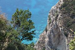 vertigo  (cyberjani) Tags: sea island greece corfu kerkyra ionian angelokastro