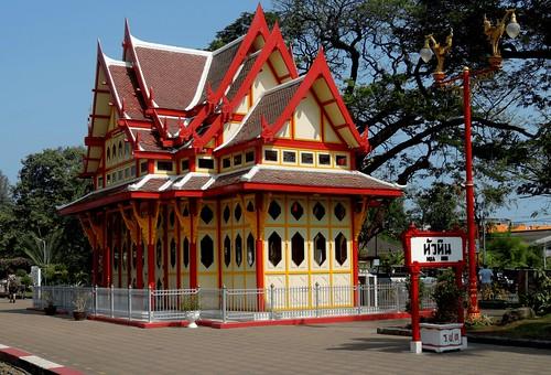 Koninklijke wachtkamer Hua Hin