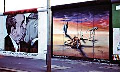 """Deutschland , 1991 - unterwegs in Berlin , Doku-serie , Graffiti an der Berliner Mauer,      My God, Help Me to Survive This Deadly Love"""".73159/4224 (roba66) Tags: city travel house building berlin art history monument arquitetura architecture deutschland graffiti reisen kunst platz urlaub haus places historic explore architektur historical 1991 bau bilder faade beton fassade historie voyages berlinermauer huser geschichte mauerfall exddr kulturdenkmal deutschland1991 roba66 nachdemmauerfall berlin1991 erlinermauer"""
