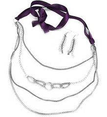 Glimpse of Malibu Purple Necklace K3 P2430A-4