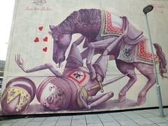 Empty Walls 2014:Zed1 no penis (DJLeekee) Tags: horse streetart festival penis graffiti empty cardiff walls 2014 emptywalls zed1