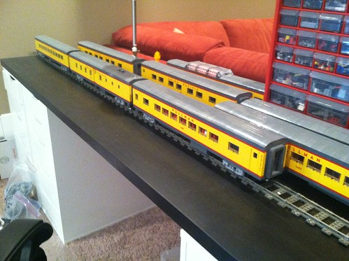 lego union pacific kitchen dormer dining car pair 5106 a photo