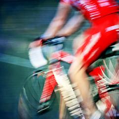 a massive wash (1crzqbn) Tags: longexposure red motion blur color bike square cyclist textures pdx bridgepedal hss 1crzqbn amassivewash