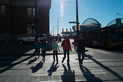 Seattle 4th & Jackson (redyamflan) Tags: seattle street shadows geocity exif:make=fujifilm camera:make=fujifilm geostate geocountrys exif:aperture=ƒ80 fujixpro1 camera:model=xpro1 exif:model=xpro1 exif:lens=xf23mmf14r exif:isospeed=320 exif:focallength=23mm