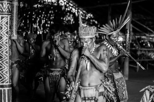Indigenous dance - Brasil