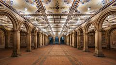 Bethesda Terrace Arcade (dansshots) Tags: nyc newyorkcity nightphotography nightshot centralpark manhattan iloveny newyorkatnight centralparknyc centralparknewyorkcity bethesdaterracearcade dansshots