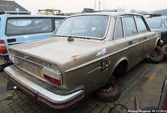 Volvo 244 GL automatic 1976 (XBXG) Tags: auto old holland classic netherlands car yard sedan vintage volvo rust automobile sweden nederland rusty swedish voiture automatic sverige junkyard scrapyard van der scrap casse paysbas corrosion 1976 lelystad roest sloop ancienne rouille gl zweden 244 rouillé bva feer roestig sloperij suédoise volvo244 autosloop autosloperij 60mp56