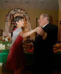 Maria and Tom Conaghan Cutting a Rug
