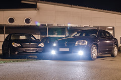 The uneven twins... (MSC_Photography) Tags: auto usa car sedan bayern bavaria us hp ps american dodge giselle 20 am