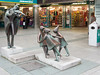 For many decades, the statute of the Fiddler of Dooney has been a lovely centrepiece of the Stillorgan Shopping Centre Ref-100116