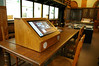 Bespoke Desktop Mounted Kiosk - Inglis Memorial Library