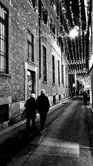 Milano (fivossp) Tags: christmas blackandwhite italy milan photography milano christmaslights christmascity fspart