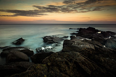 SOMETHING A LITTLE MORE EXOTIC (Michael Halliday) Tags: longexposure rocks lightroom adobelightroom lr4 nd110 bwnd110 extremend 10stopper