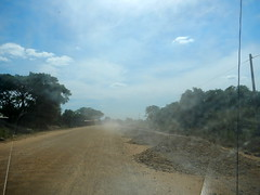 National Highway 7, Cambodia (oledoe) Tags: road tarmac drive cambodia driving ontheroad roadcondition osm:way=147033129 0tagged set:name=201412ratanakiri