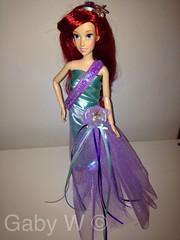 Disney Classic Ariel doll ooak designer dress (Gaby W) Tags: classic ariel doll designer ooak disney