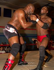 Flyin Graysons, Black Wall$treet (bkrieger02) Tags: wrestling squaredcircle prowrestling professionalwrestling ecwa ecwatoysfortots