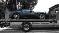 En panne (Falcon_33) Tags: california cars sony ferrari bmw supercar v8 voitures i8 sportcars ishootraw worldcars iamthespeedhunter